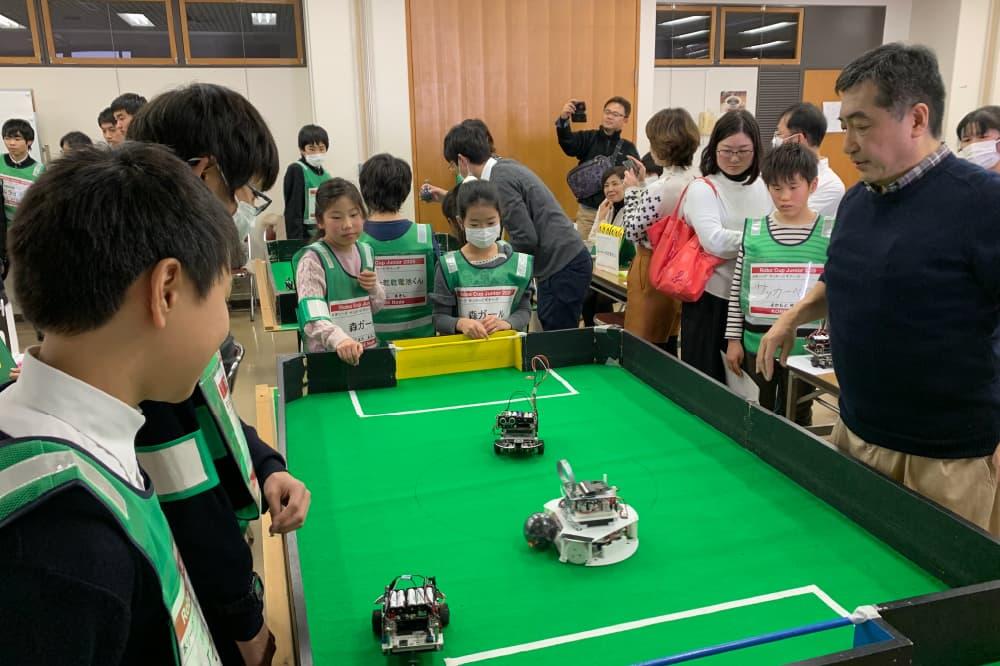 ロボカップジャパン大会の様子